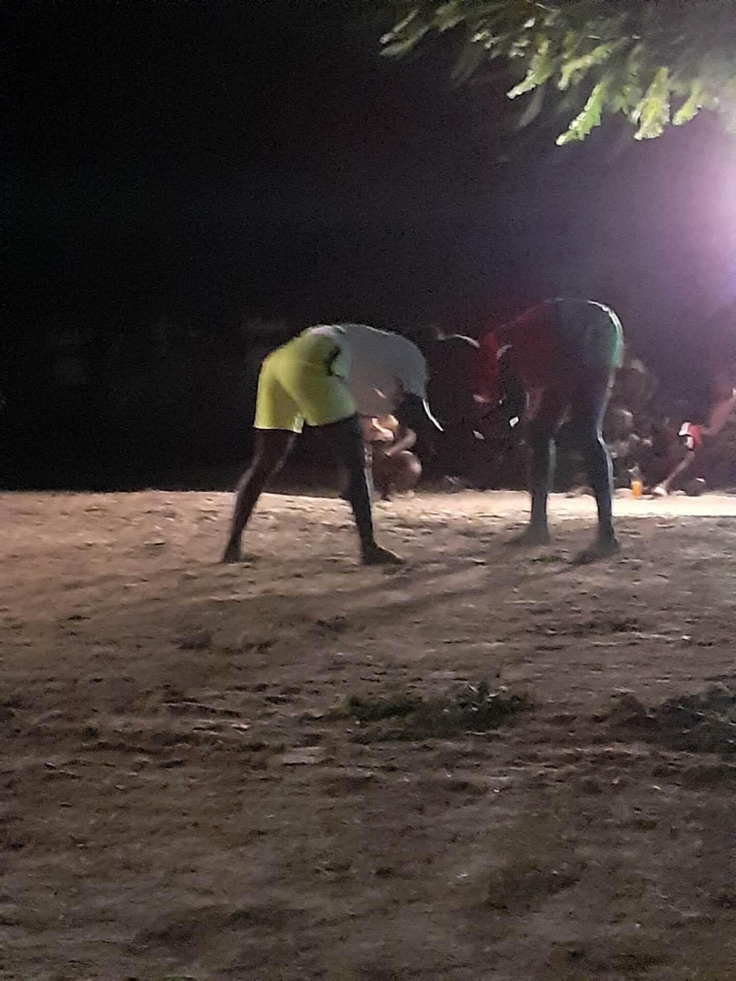 Combat de lutte sénégalaise