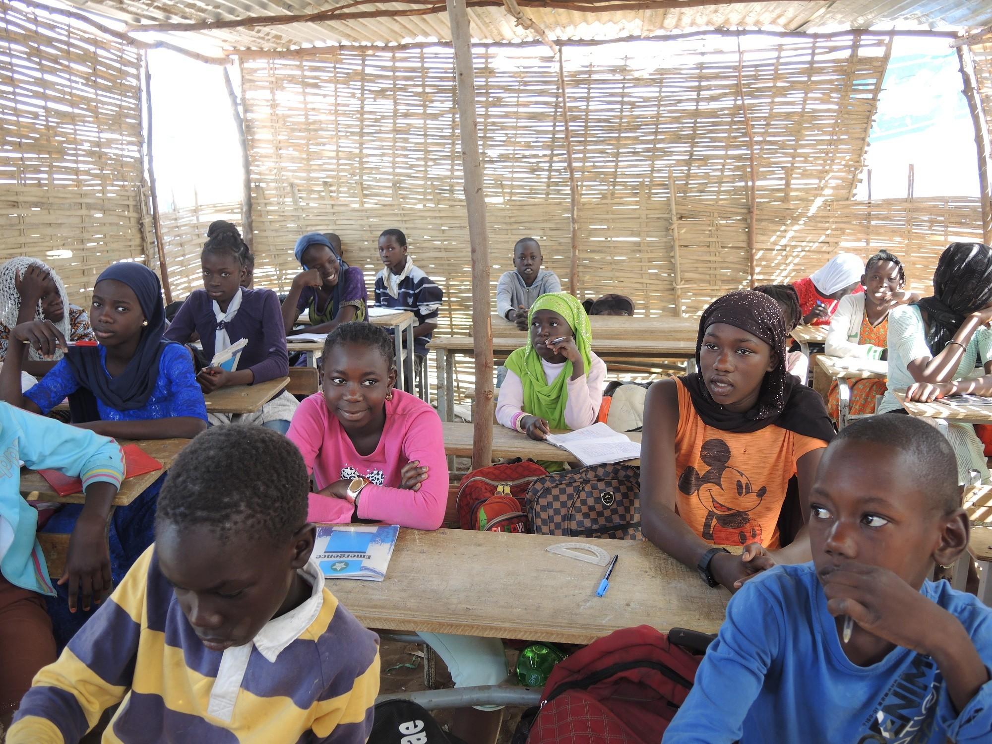 Cours cm2 à l'école de N'Guekokh N°6 (Keur-Thiam)