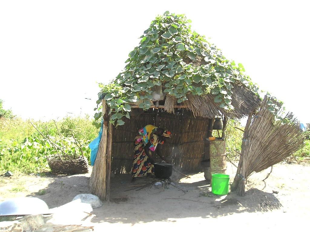 Case cuisine à Kob Gayane