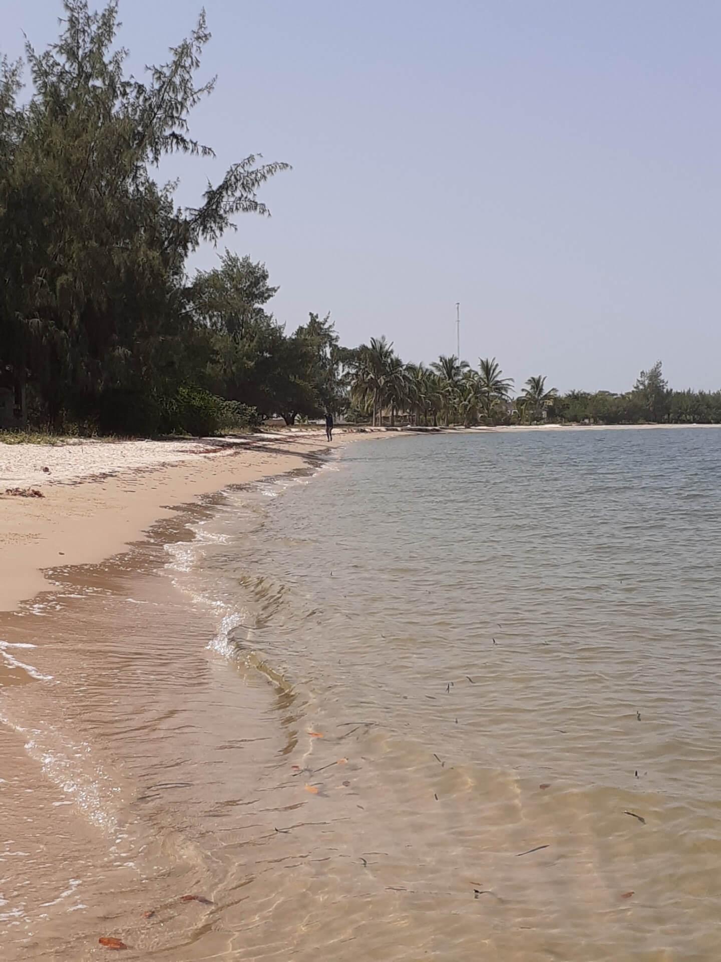 Plage de l'île de Carabane