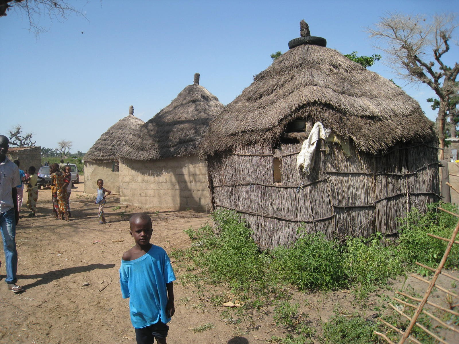 Les cases de Kob Gayane