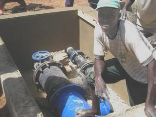2010 Travaux sur le réseau d'eau potable